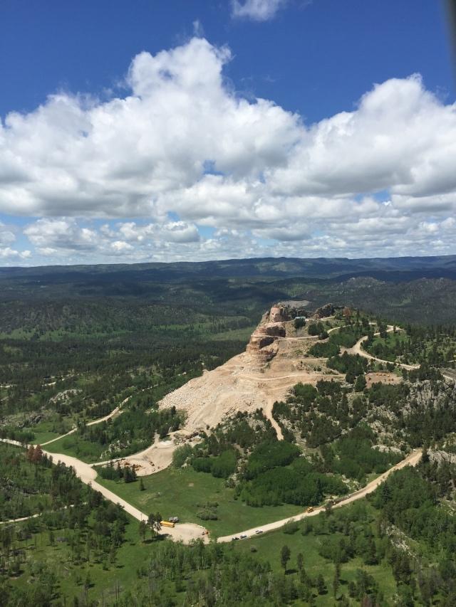 Crazy Horse Aerial View